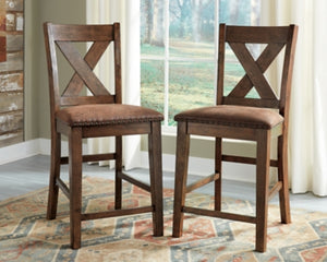 Chaleny Benchcraft Barstool Set of 2