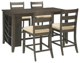 Rokane Signature Design 5-Piece Dining Room Package