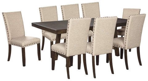 Rokane Signature Design 9-Piece Dining Room Package