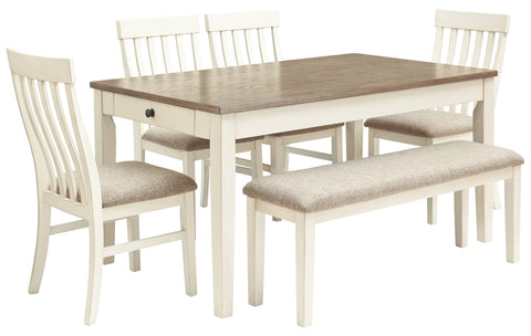Bardilyn Benchcraft 6-Piece Dining Room Package