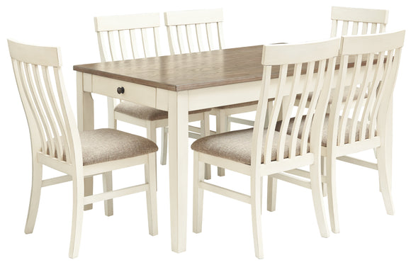 Bardilyn Benchcraft 7-Piece Dining Room Package