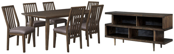 Kisper Signature Design 8-Piece Dining Room Package