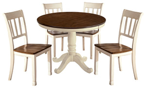 Whitesburg Signature Design 5-Piece Dining Room Package