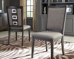 Chadoni Signature Design by Ashley Dining Chair Set of 2