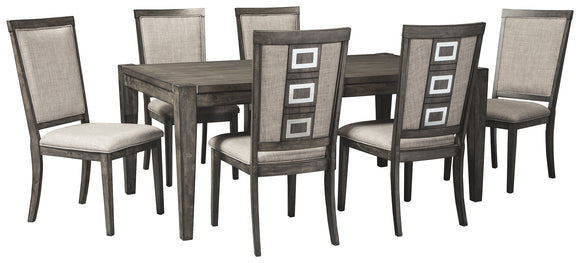 Chadoni Signature Design 7-Piece Dining Room Package