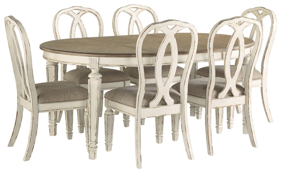 Realyn Signature Design 7-Piece Dining Room Package