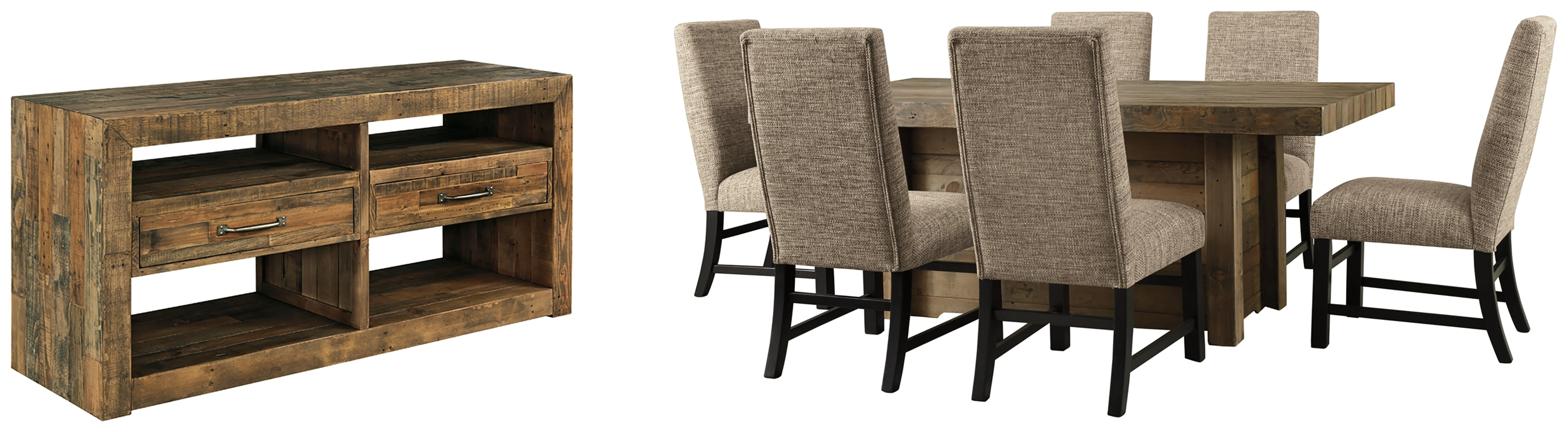 Sommerford Signature Design 8-Piece Dining Room Package