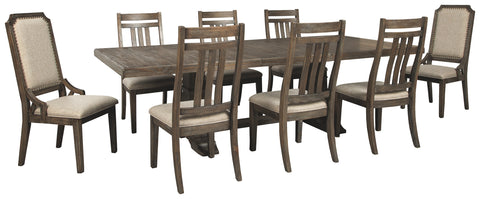 Wyndahl Signature Design 9-Piece Dining Room Package