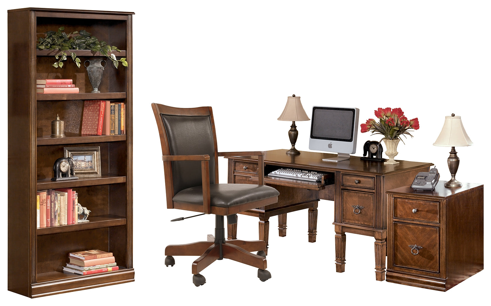 Hamlyn Signature Design 4-Piece Home Office Package