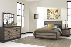 Open image in slideshow, Harlinton Signature Design 5-Piece Bedroom Set