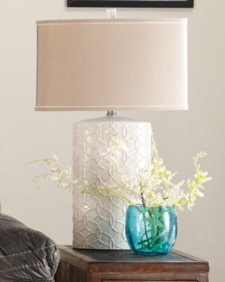 Shelvia Signature Design by Ashley Table Lamp