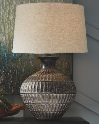 Magan Signature Design by Ashley Table Lamp