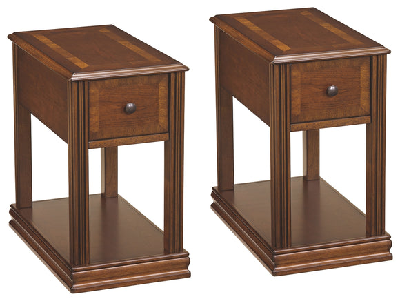 Breegin Signature Design 2-Piece End Table Package