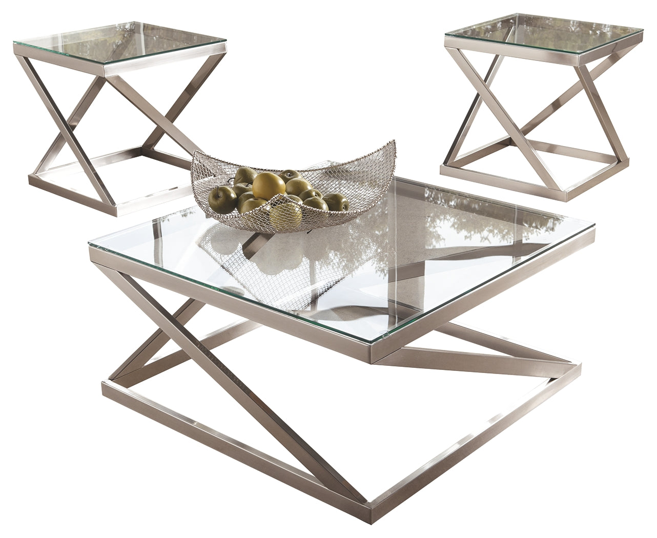 Coylin Signature Design 3-Piece Occasional Table Package