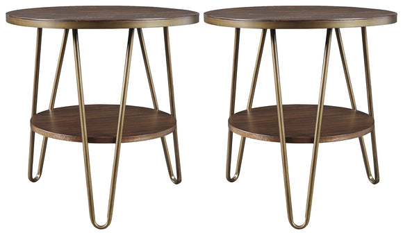 Lettori Signature Design 2-Piece End Table Package