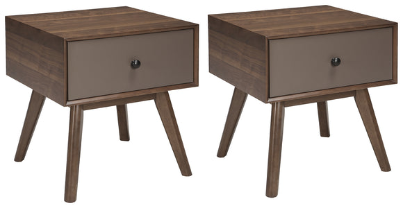 Lynnifer Signature Design 2-Piece End Table Package