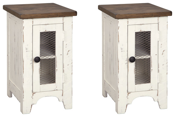 Wystfield Signature Design 2-Piece End Table Package