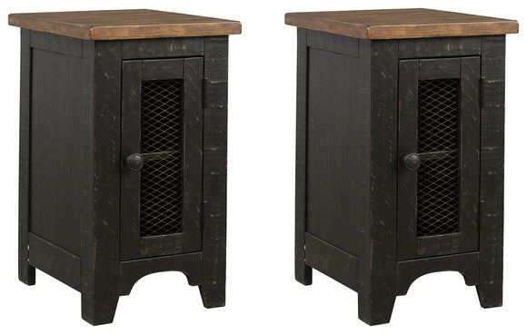 Valebeck Signature Design 2-Piece End Table Package