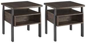 Vailbry Signature Design 2-Piece End Table Package