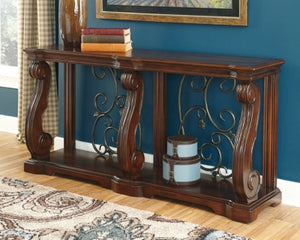 Alymere Signature Design by Ashley Sofa Table