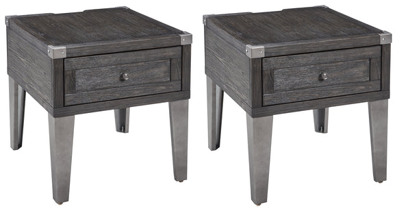 Todoe Signature Design 2-Piece End Table Package