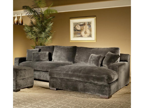 Pebble Sectional with Chaise 2pcs