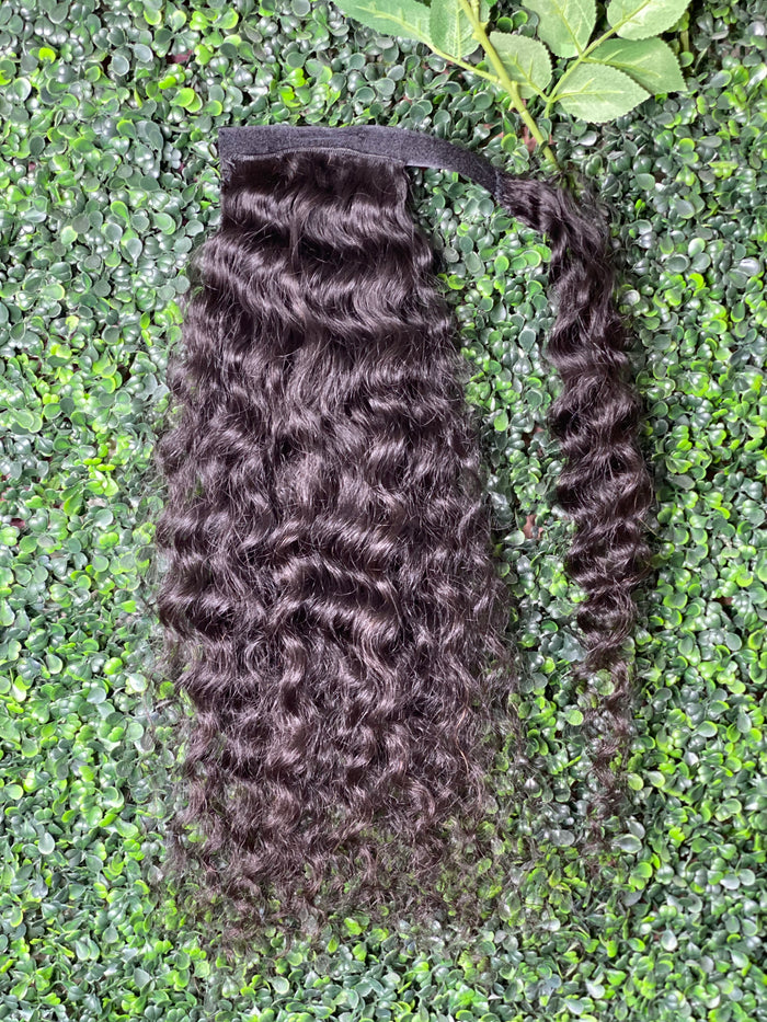 Velcro Ponytail Deep Wave