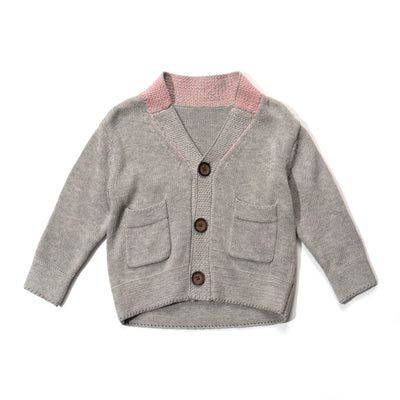 Poney Boys Long Sleeve Cardigan 1908