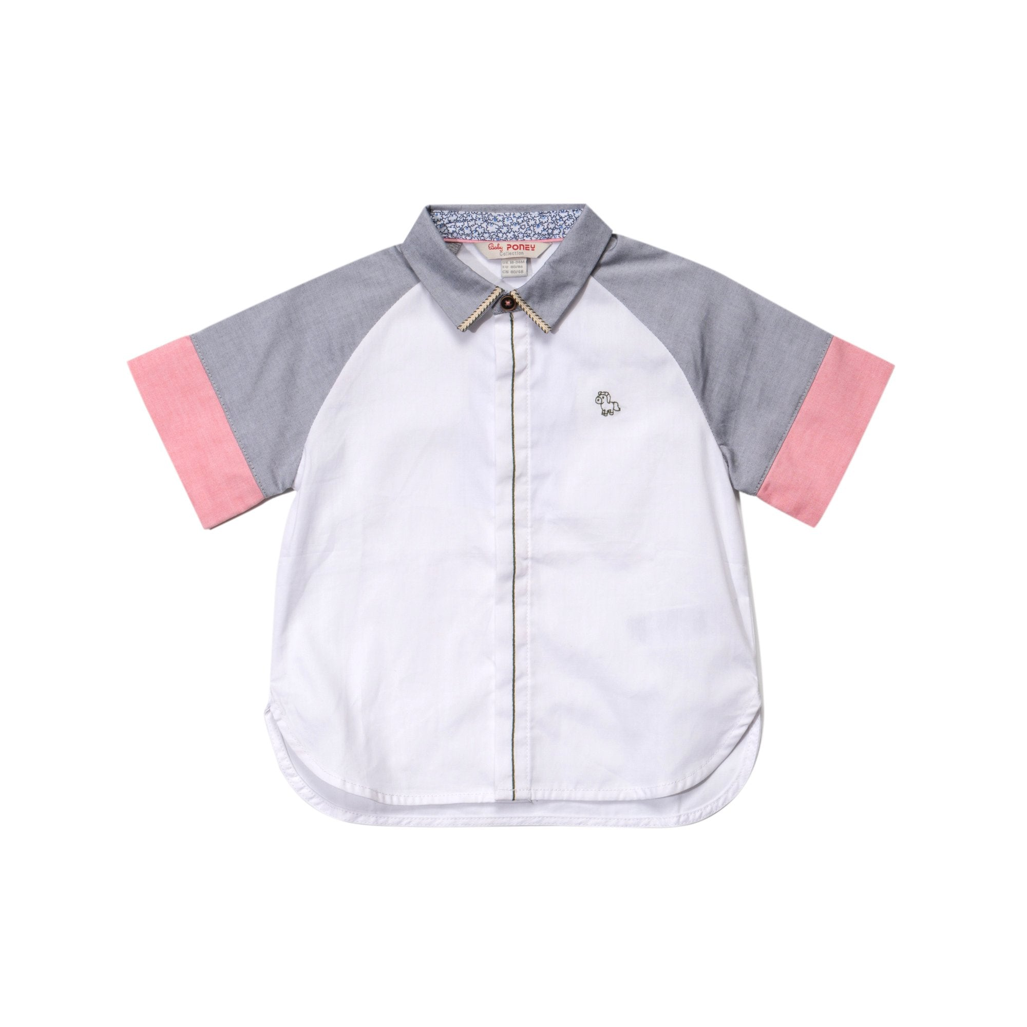 Poney Boys ShortSleeve Shirt 1914