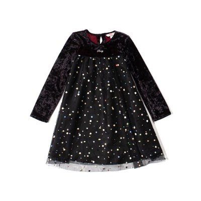Poney Girls Long Sleeve Dress 2001