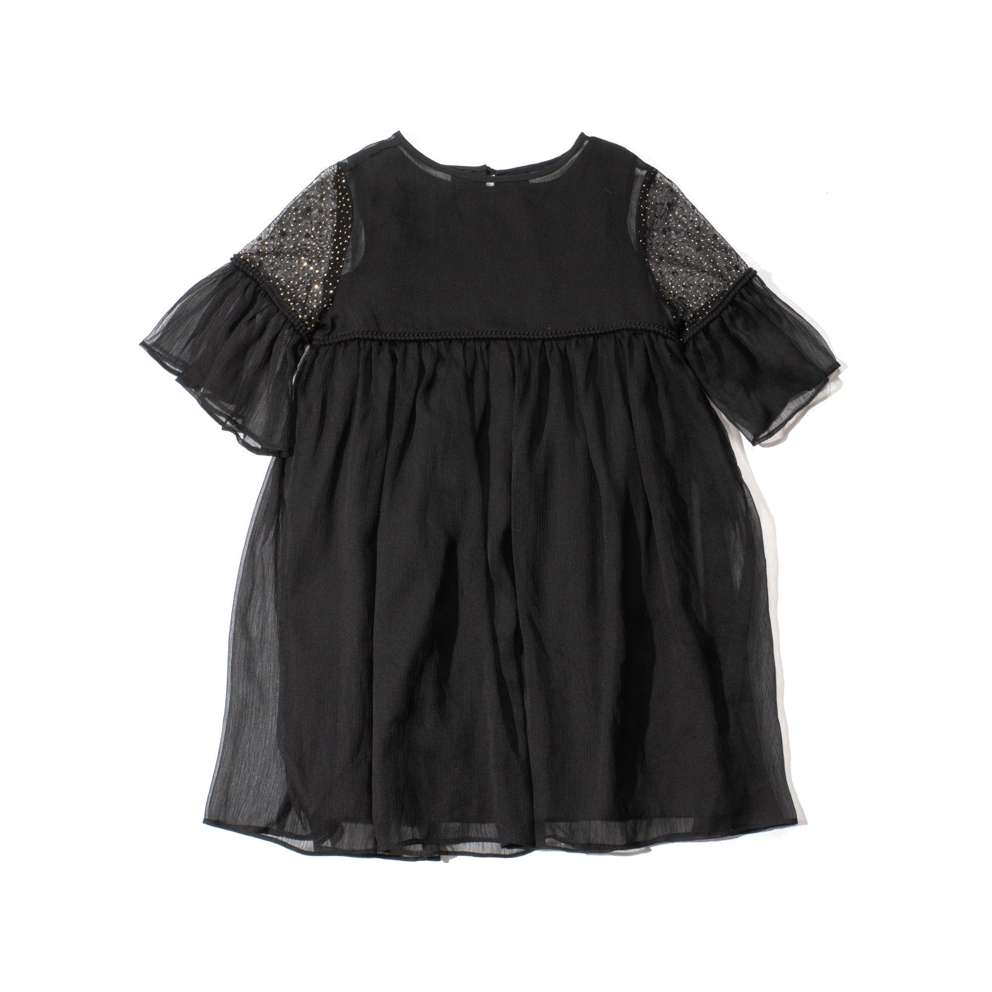 [Raya]Poney Girls Three Quarter Sleeve Dress 2015