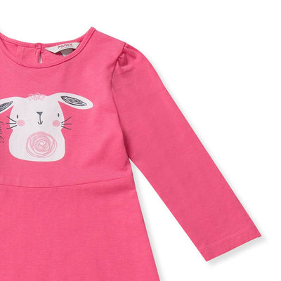 [Clearance] Poney Girls 3/4 Sleeve Dress 7294