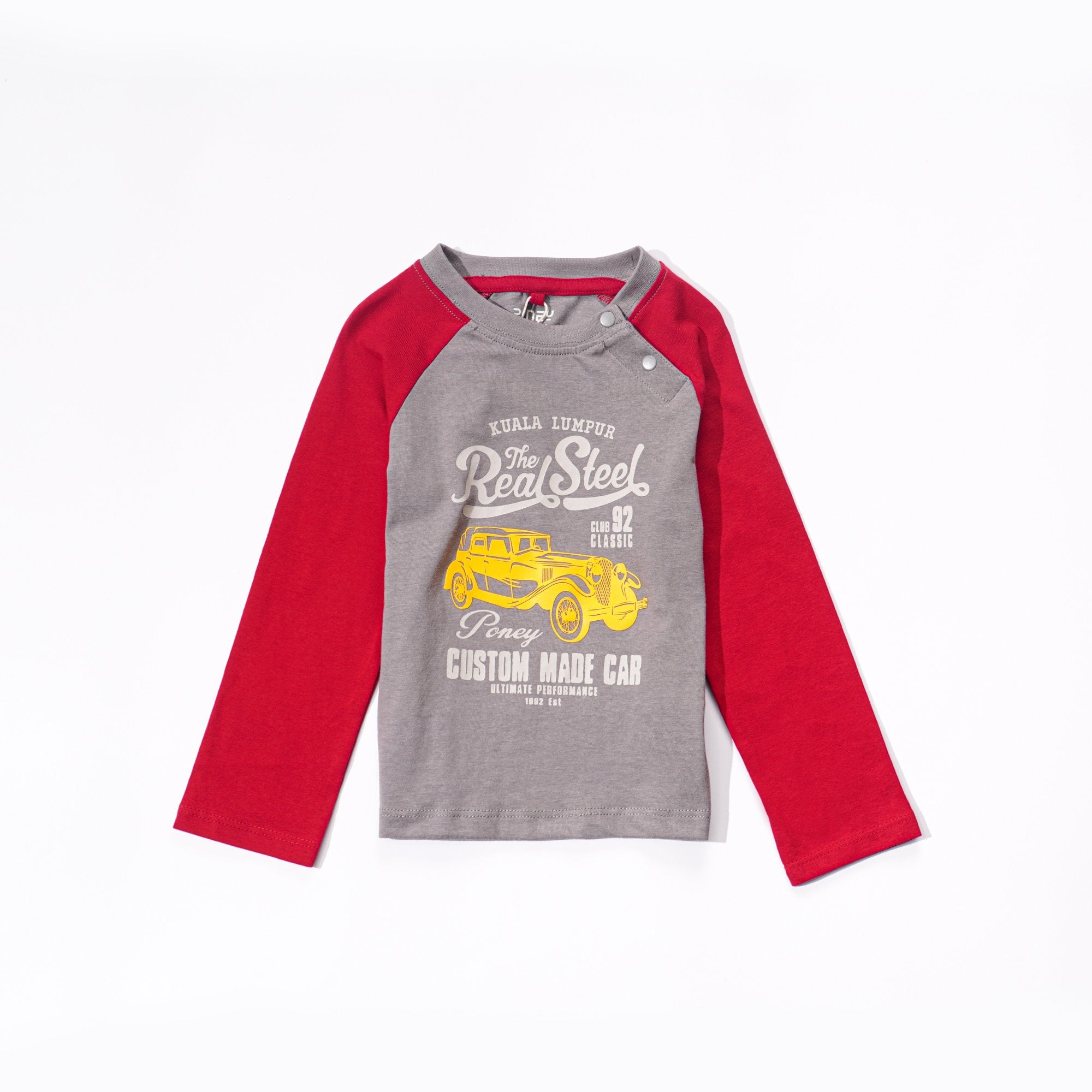Poney Boys Long Sleeve Tee 7786 (6mths-12yrs)