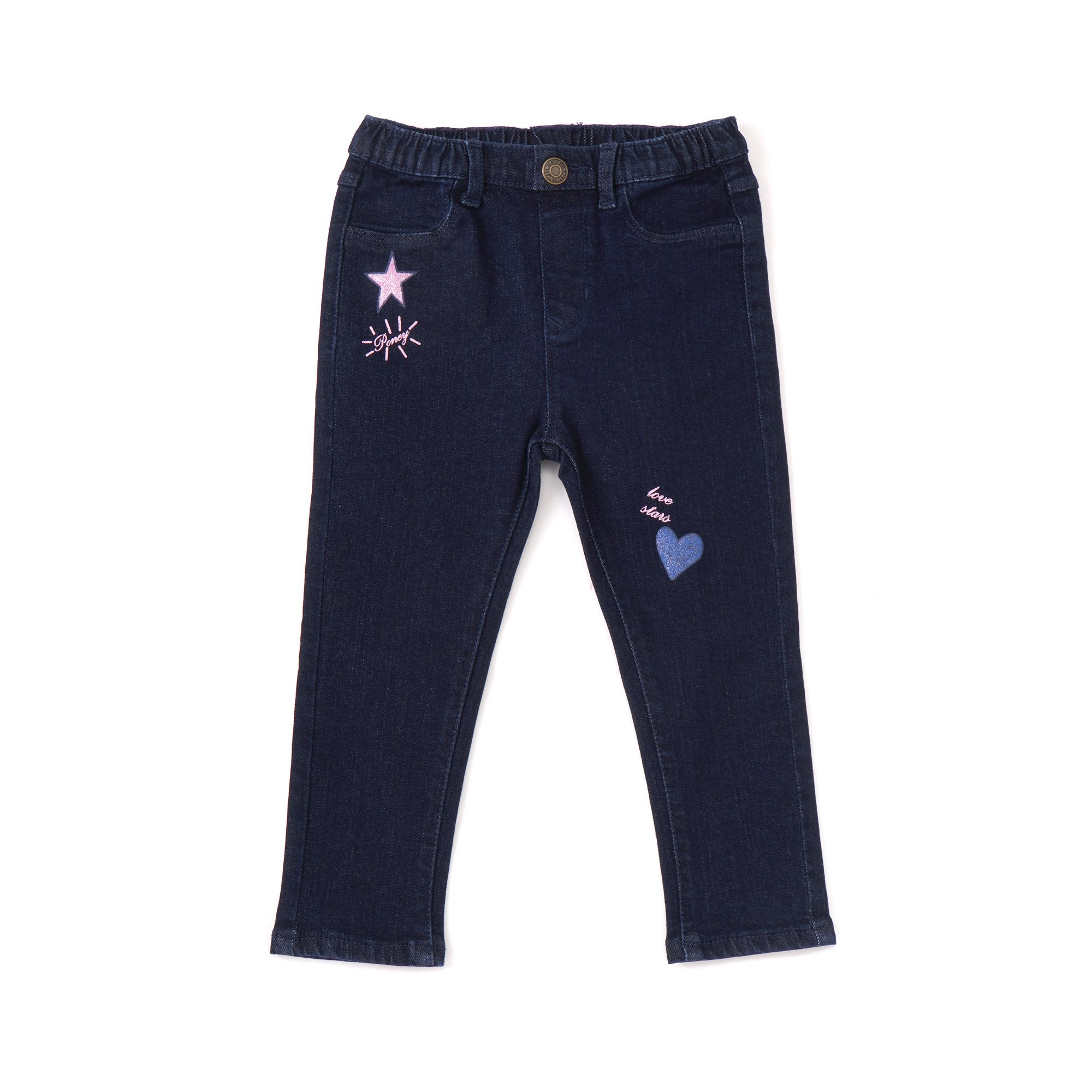 Poney Girls Jeans 7830 (6mths-12yrs)