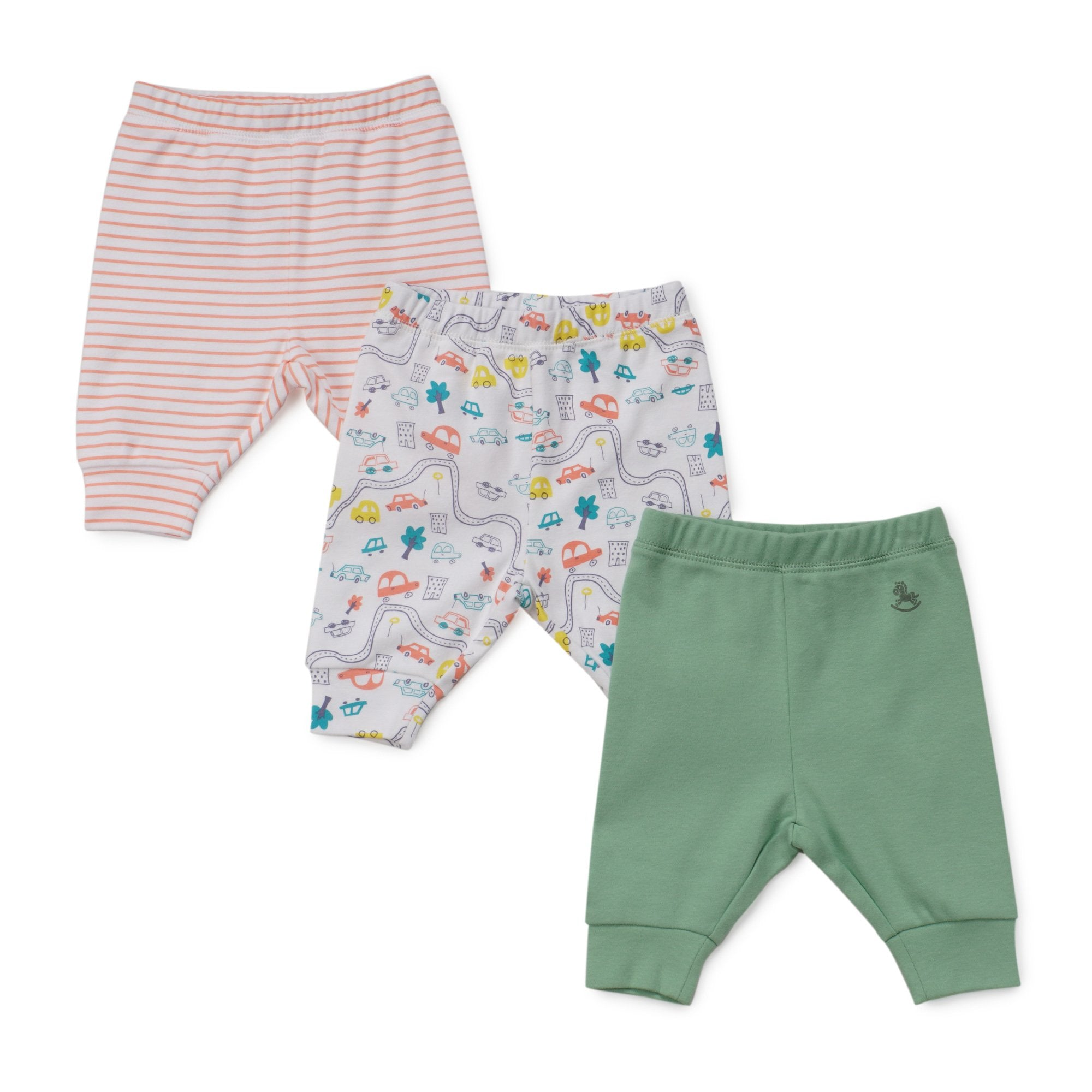Poney Essential Boys 3-Pack Long Pants 80008