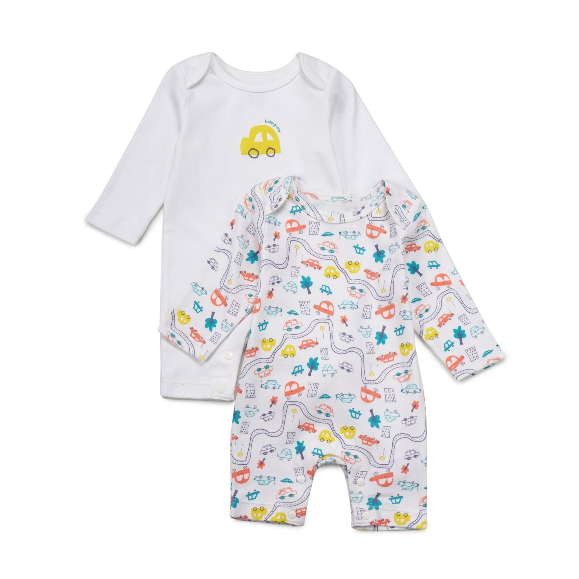 Poney Essential Boys 2-Pack Sleepsuits 80017