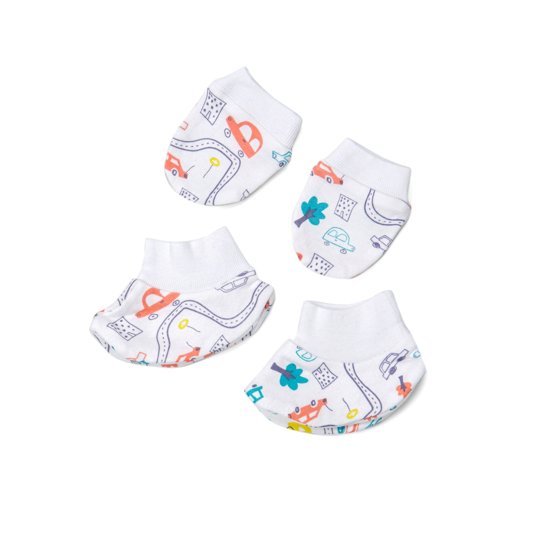 Poney Essential Boys Mitten & Bottie 80025