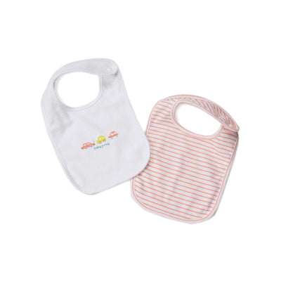 Poney Essential Boys 2-Pack Bibs 80031