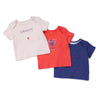 Poney Essential Girls 3-Pack Short Sleeve Top 80036