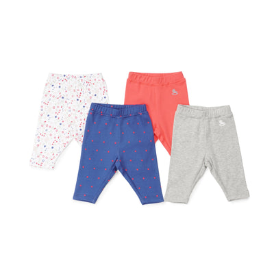 Poney Essential Girls 4-Pack Long Pants 80041