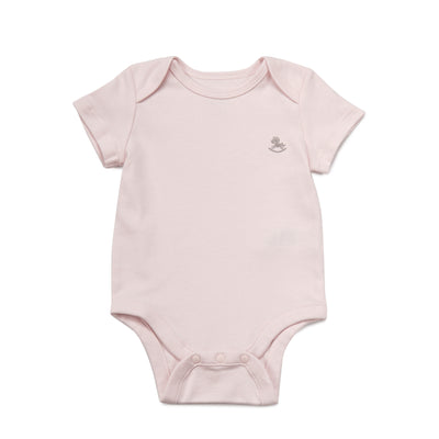 Poney Essential Girls 2-Pack Short Sleeve Bodysuits 80068