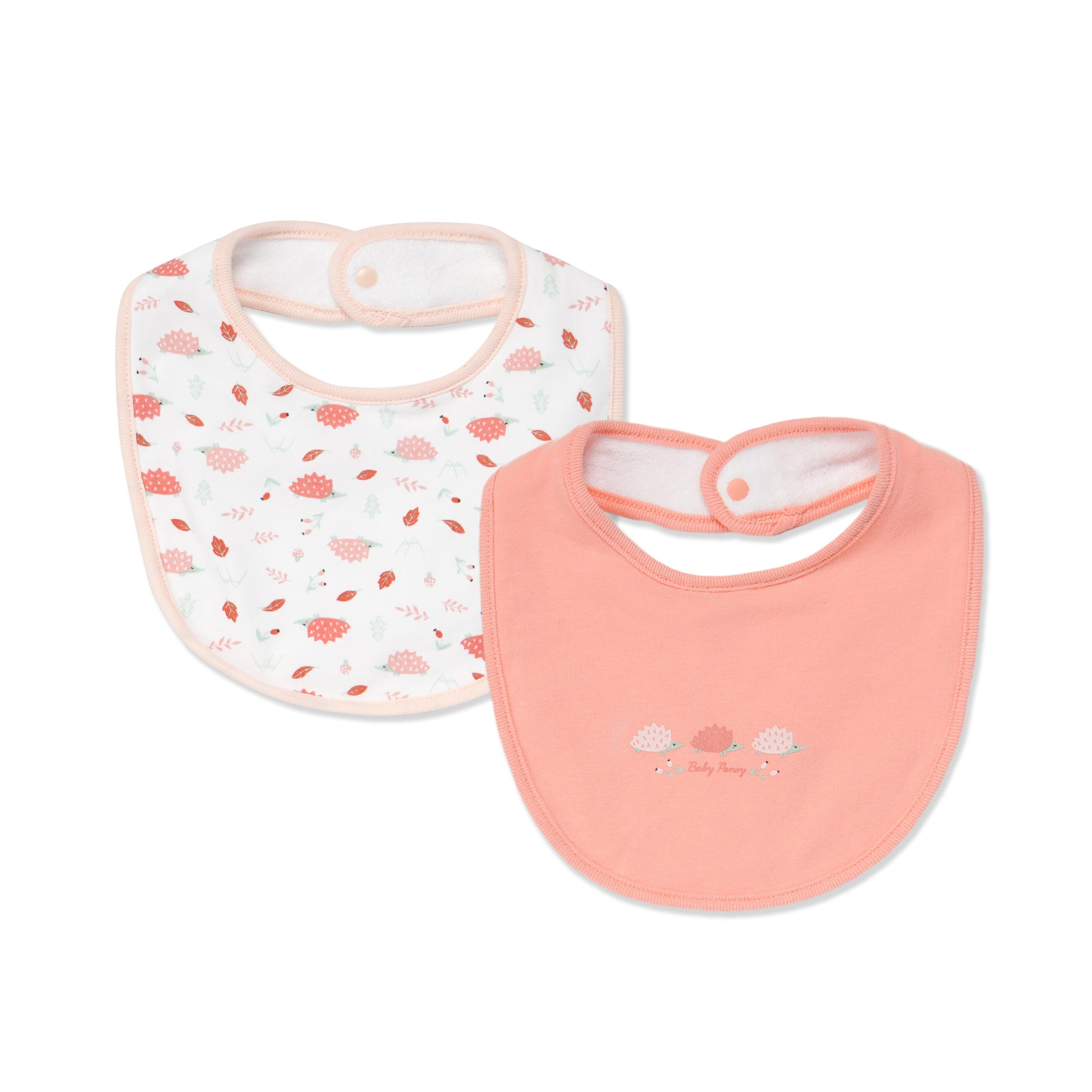 Poney Essential Girls 2-Pack Bibs 80483