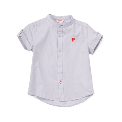 Poney Boys ShortSleeve Shirt 8054 (6mths-12yrs)