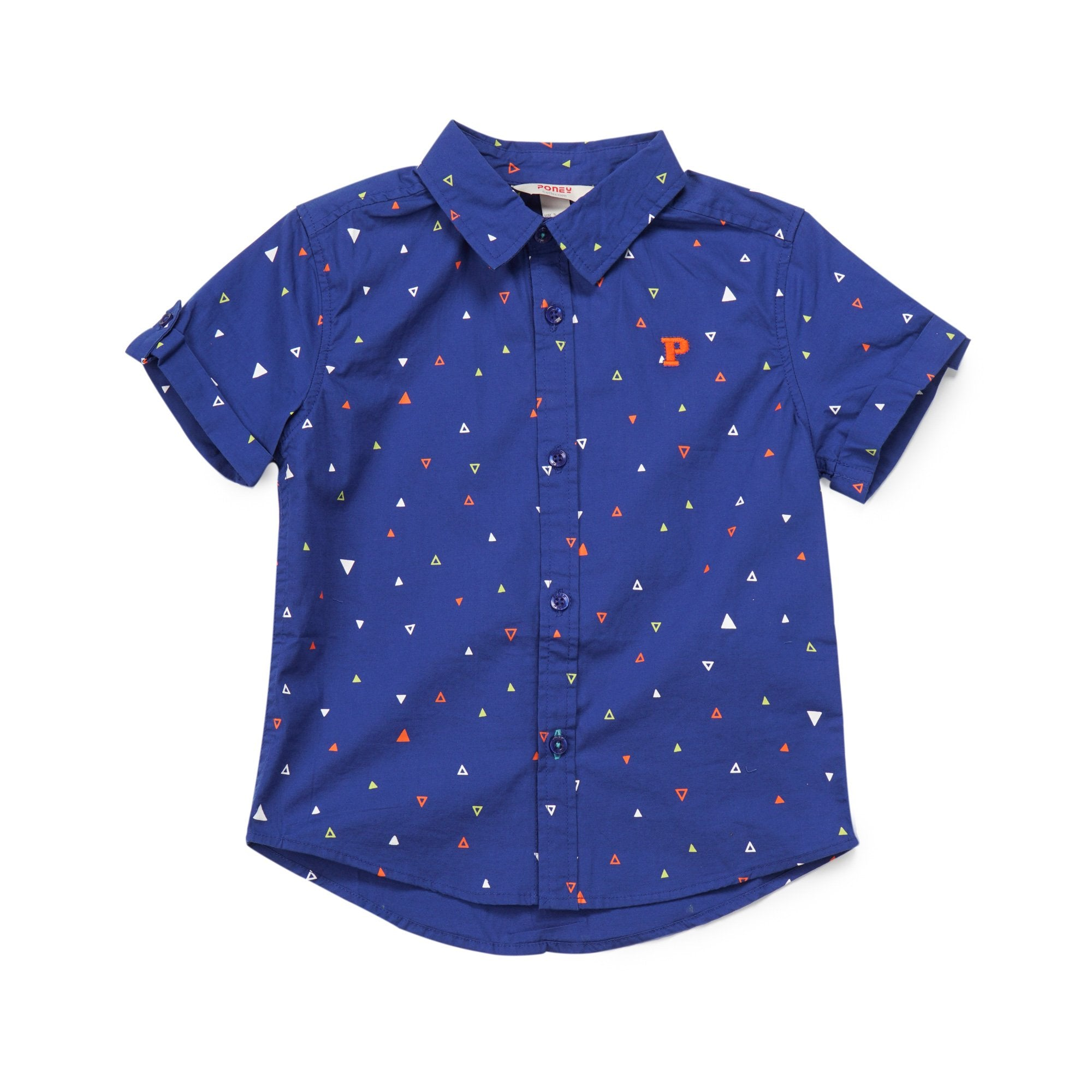Poney Boys ShortSleeve Shirt 8055 (6mths-12yrs)