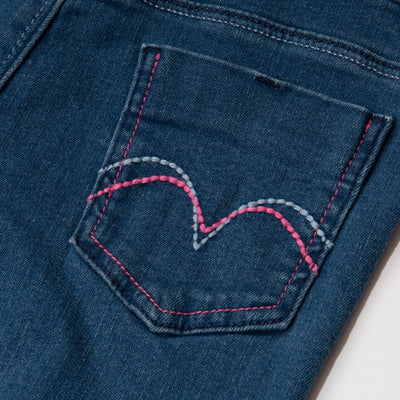 Poney Girls Jeans 8168 (6mths-12yrs)