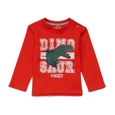 Poney Boys Long Sleeve Tee 8272 (6mths-12yrs)