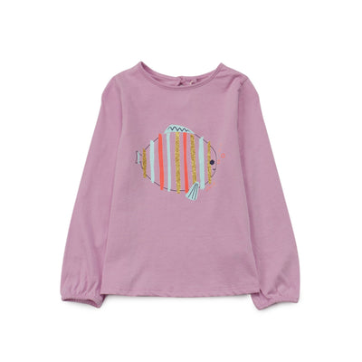Poney Girls Long Sleeve Tee 8282 (6mths-12yrs)