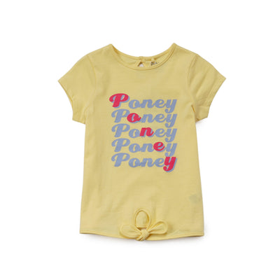 Poney Girls ShortSleeve Tee 8291 (6mths-12yrs)