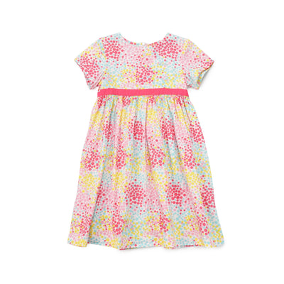 Poney Girls ShortSleeve Dress 8318 (6mths-12yrs)