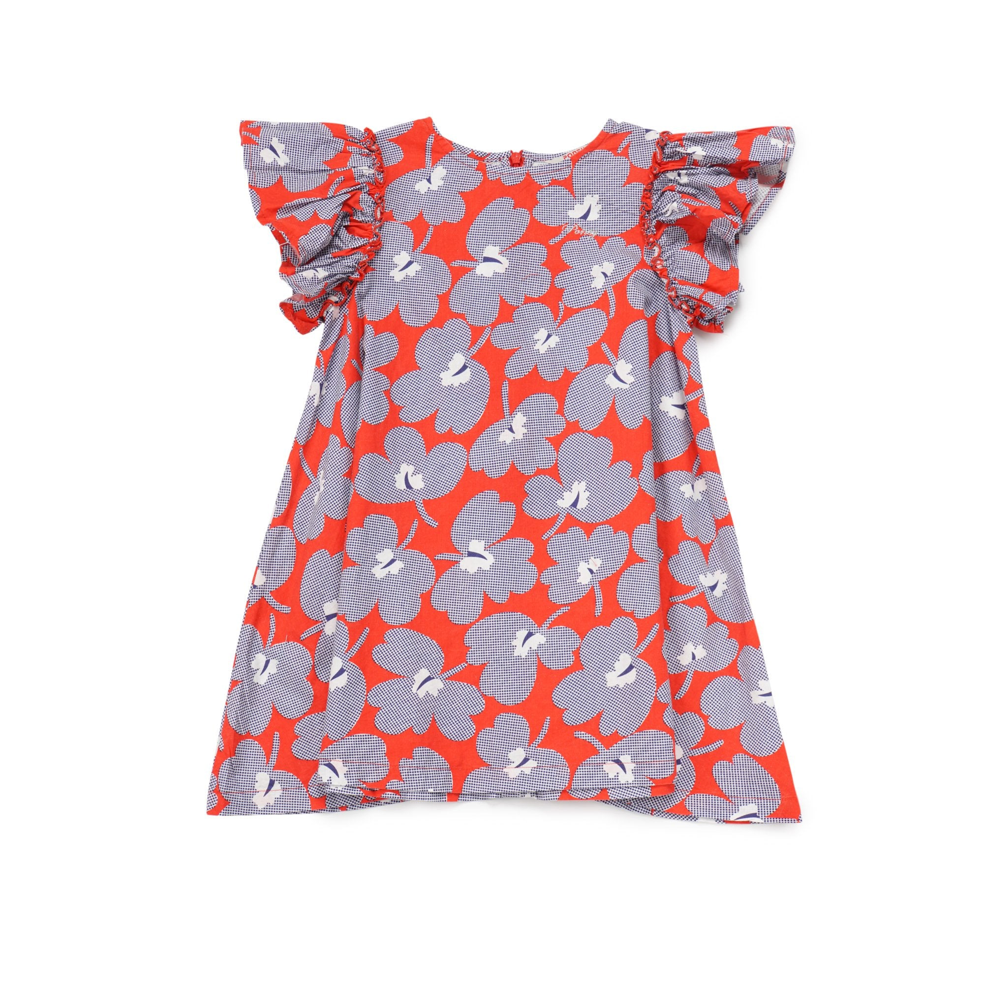 Poney Girls ShortSleeve Dress 8319 (6mths-12yrs)